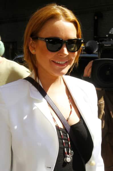 Lindsay Lohan Happy