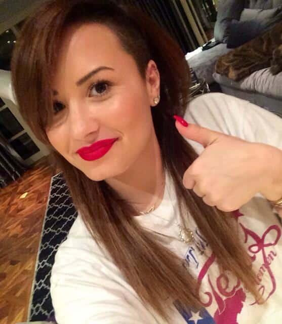Demi Lovato as Brunette