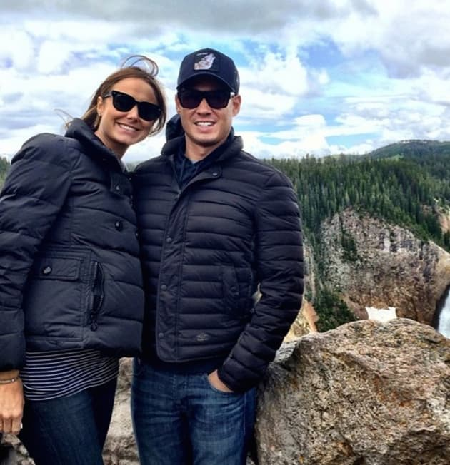 Stacy Keibler and Jared Pobre Photo
