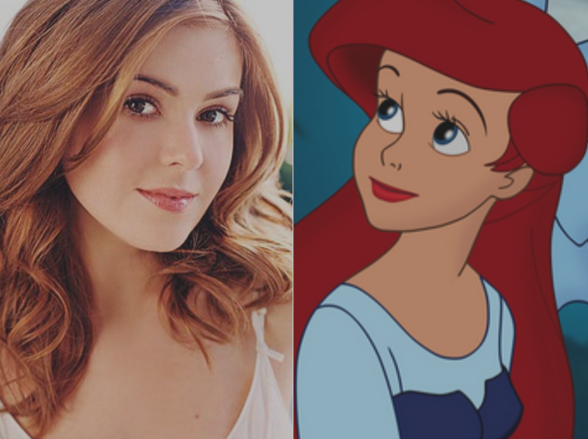 Isla Fisher & Ariel