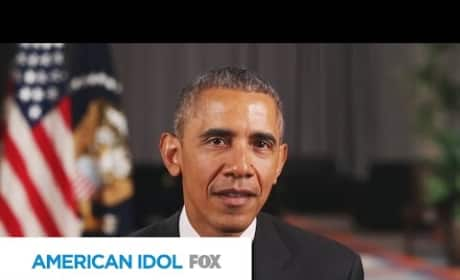 President Obama Addresses American Idol Viewers