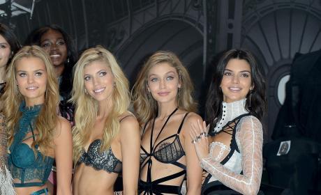 Kate Grigorieva, Devon Windsor, Gigi Hadid and Kendall