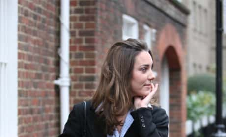 Kate Middleton Heads To The Dry Cleaners in January 2006