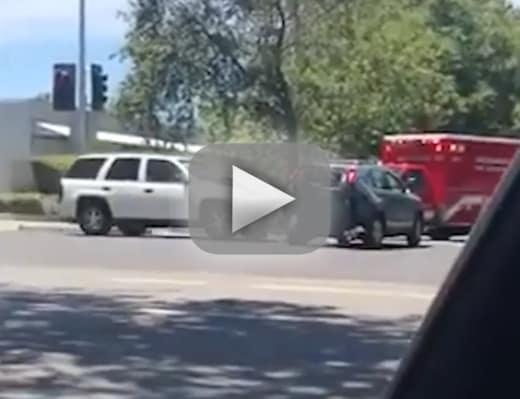 Shocking sacramento road rage incident watch