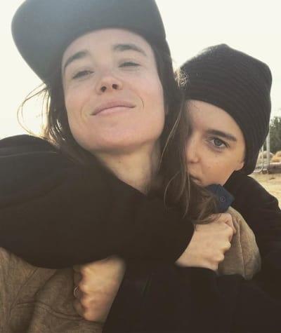 Emma Portner and Ellen Page