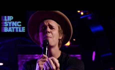 Justin Bieber Covers Fergie, Gets Emotional on Lip Sync Battle