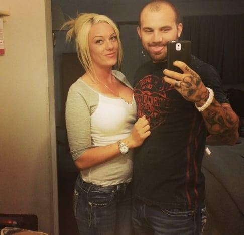 Adam Lind and Jessica Nicole