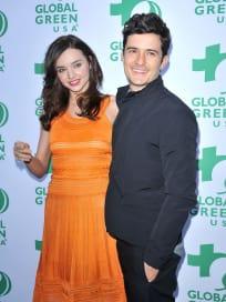 Orlando Bloom and Miranda Kerr