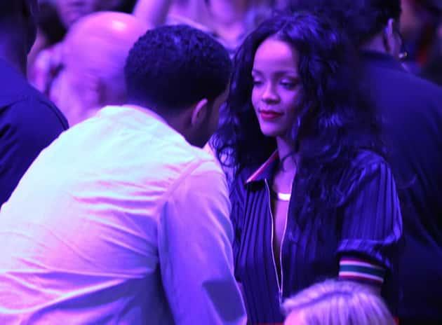 Drake and Rihanna Image
