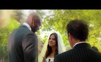 Khloe Kardashian Sits Kourtside, Kommands Wedding Attention