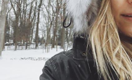 Kristin Cavallari: Makeup-Free For Family Snow Day!