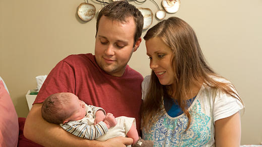 Josh Duggar and Baby