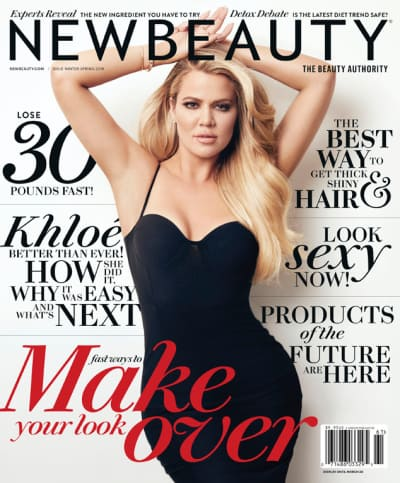 Khloe Kardashian New Beauty Magazine Cover