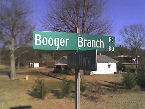 Booger Branch Rd.