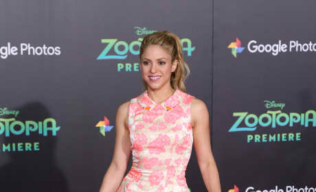 Shakira: 'Zootopia' Premiere