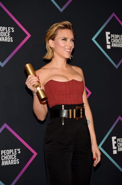 Scarlett Johansson wins