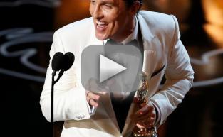 Matthew McConaughey Oscars Speech