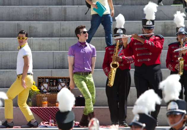 Glee Premiere Scene