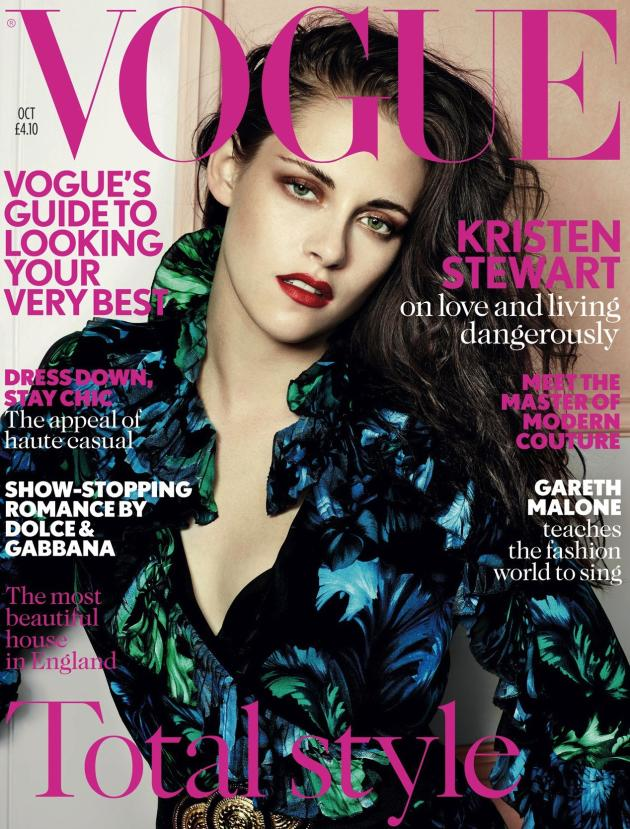 Kristen Stewart on UK Vogue