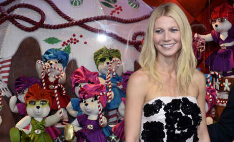 Gwyneth Paltrow Launches 'Printemps Haussmann' Christmas Decorations