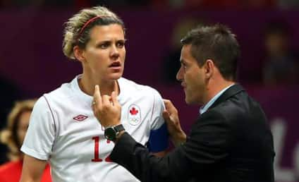 Christine Sinclair, Canadian Soccer Star, Blames Referees for Loss to U.S.