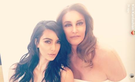 Kim Kardashian and Caitlyn