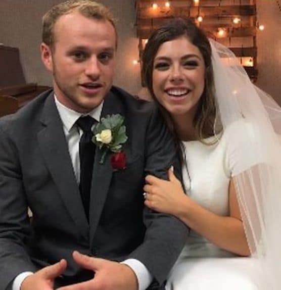 Josiah duggar and lauren swanson wedding pic