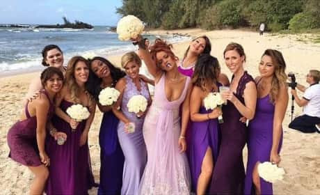 12 Stars Who Have Served as Bridesmaids