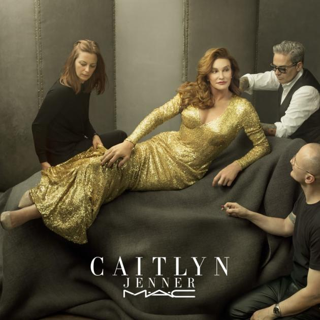 Caitlyn Jenner for MAC