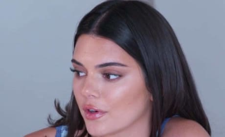 Kendall Jenner on KUWTK Episode