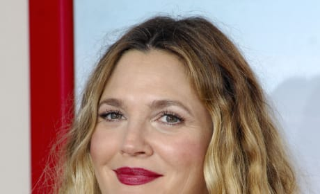 Drew Barrymore at Blended Premiere