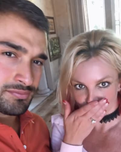 Britney Spears and Sam Asghari Engaged