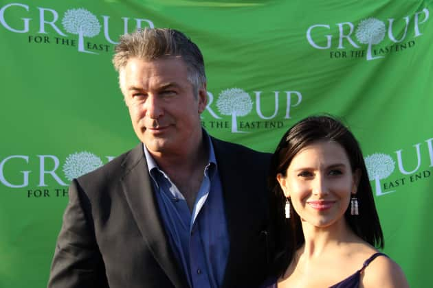 Alec Baldwin and Hilaria