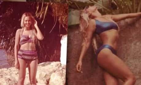 Beyonce Bikini Pic Selfies