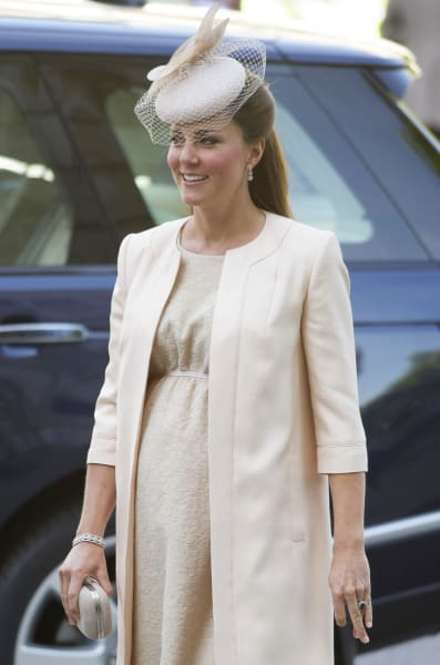 Kate Middleton Bump Photo