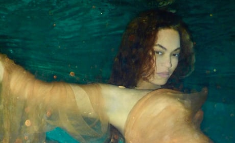 Beyonce Under Water