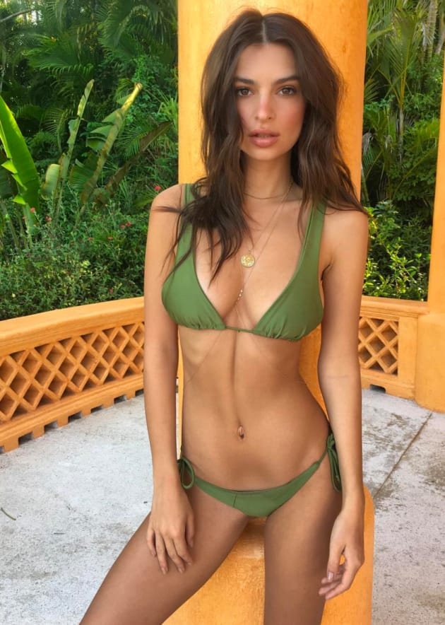 Emily Ratajkowski Bikini Pose