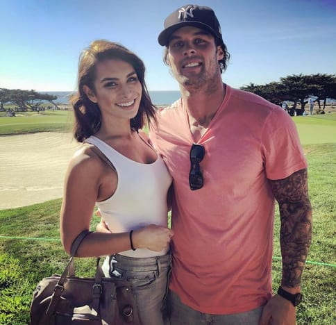 Ashley Iaconetti and Kevin Wendt