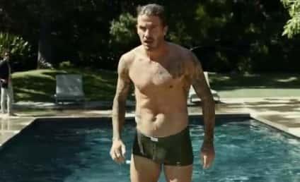 Skimpy David Beckham Ad: Drool Now!