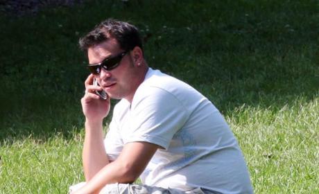 Jon Gosselin on the Phone