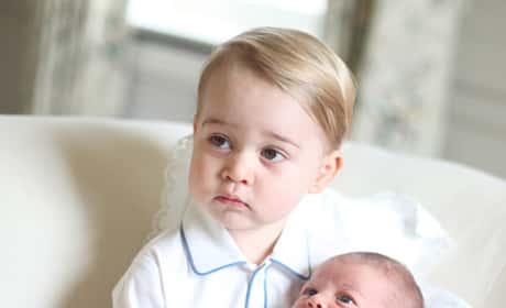 Princess Charlotte and Prince George Photos