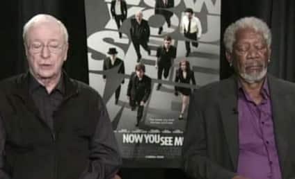 Morgan Freeman on Falling Asleep in Mid-Interview: Just Beta Testing Google Eyelids!