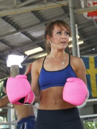 Ashley Hebert Boxing