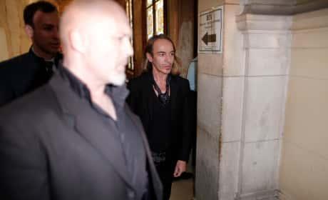 John Galliano Enters Court