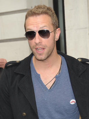 Chris Martin in London