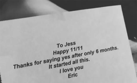 Jessica Simpson Anniversary Photo