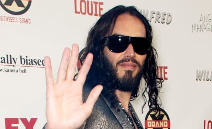 Russell Brand Describes Giving Man Hand Relief in Graphic Detail