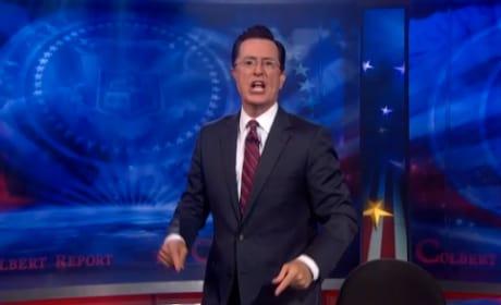 Stephen Colbert Daft Punk Performance