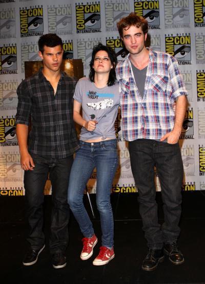 Pattinson, Lautner and Stewart