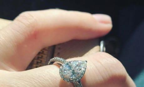 Jenelle Evans Engagement Ring Close-Up